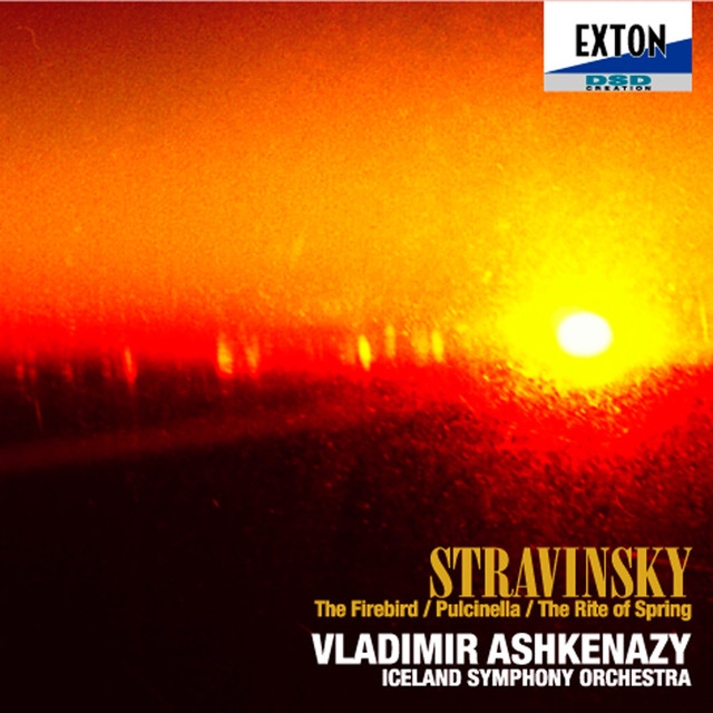 Stravinsky: The Firebird, Pulcinella, The Rite of Spring Albumcover