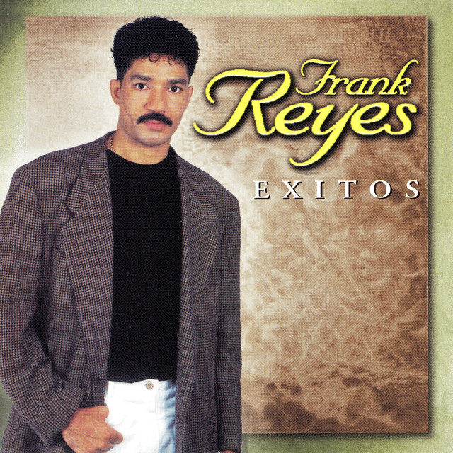 Album cover for Exitos by Frank Reyes