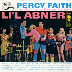 """Music From The Broadway Production """"Lil Abner"""" album"""