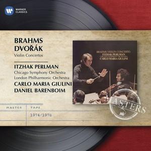 Brahms: Violin Concerto Albumcover