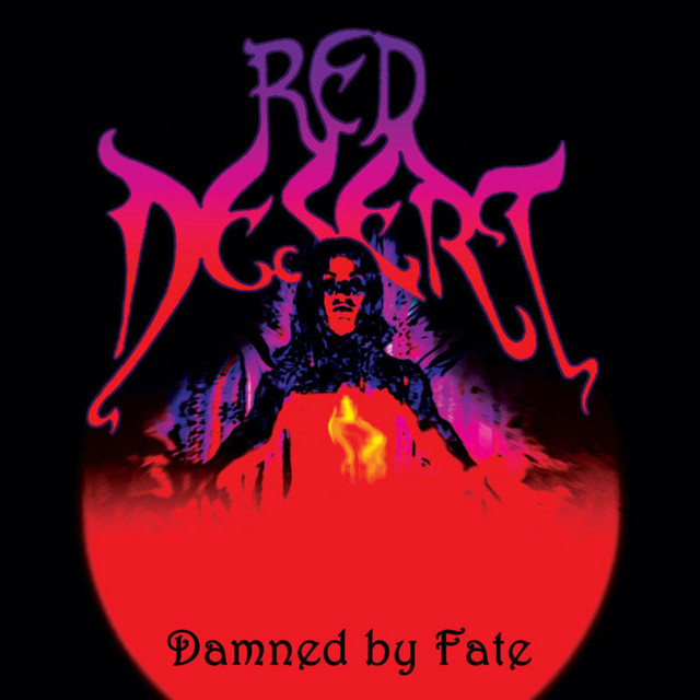 Bilderesultat for red desert damned by fate spotify