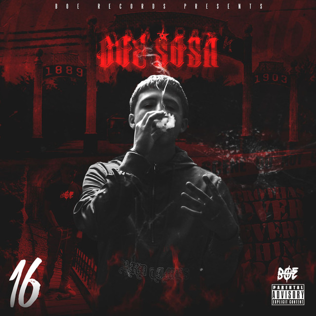 Album cover for 16 by BOE Sosa