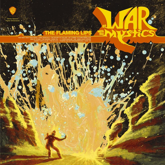 Album cover for At War With The Mystics by The Flaming Lips