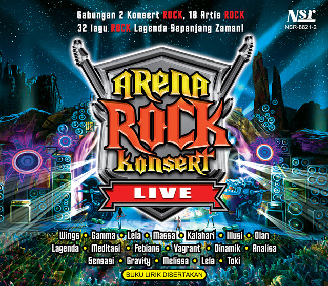 Arena Rock Konsert Vol 1