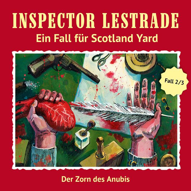 Ein Fall für Scotland Yard: Der Zorn des Anubis Cover