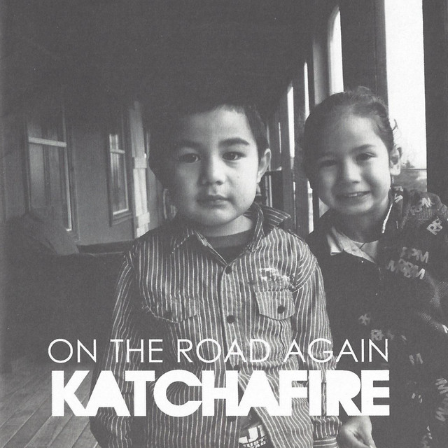 Album cover for On The Road Again by Katchafire