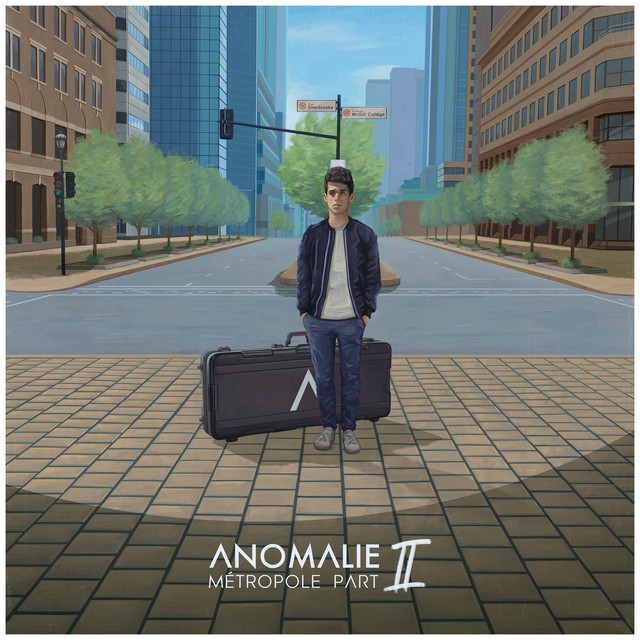Album cover for Métropole Part II by Anomalie