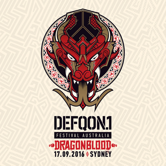 Album cover for Defqon.1 Festival Australia 2016: Dragonblood by Various Artists