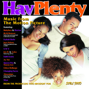 HAV PLENTY Music From The Motion Picture Albumcover
