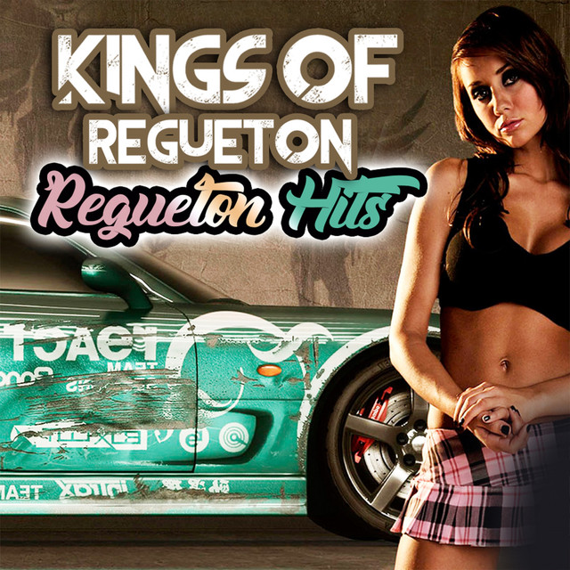 Album cover for Regueton Hits by Kings of Regueton