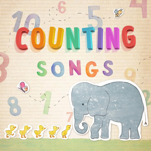 Album cover for Counting Songs by Nursery Rhymes 123