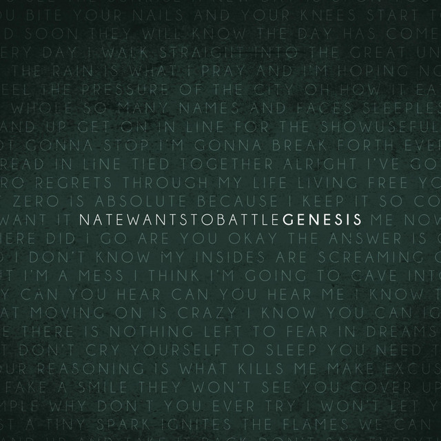 Album cover for Genesis by NateWantsToBattle