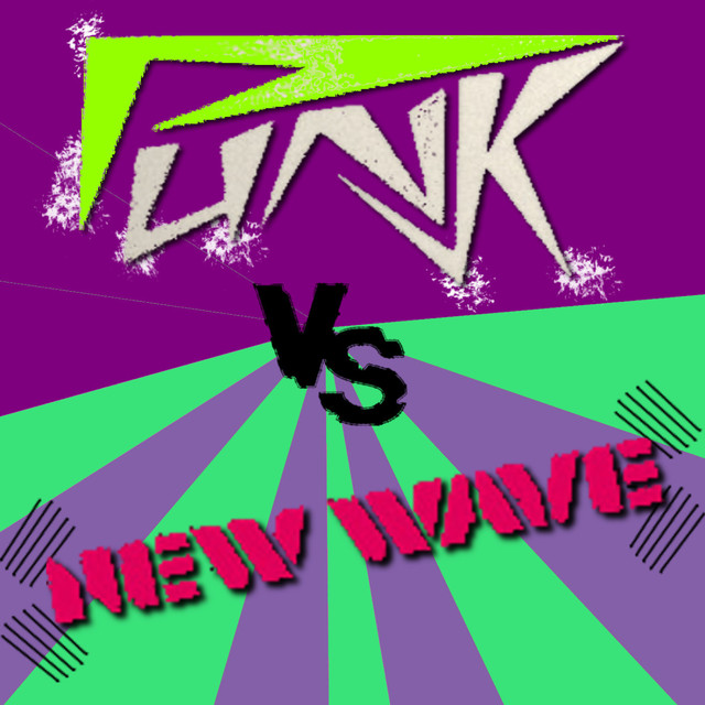 Various Artists Punk Vs New Wave album cover