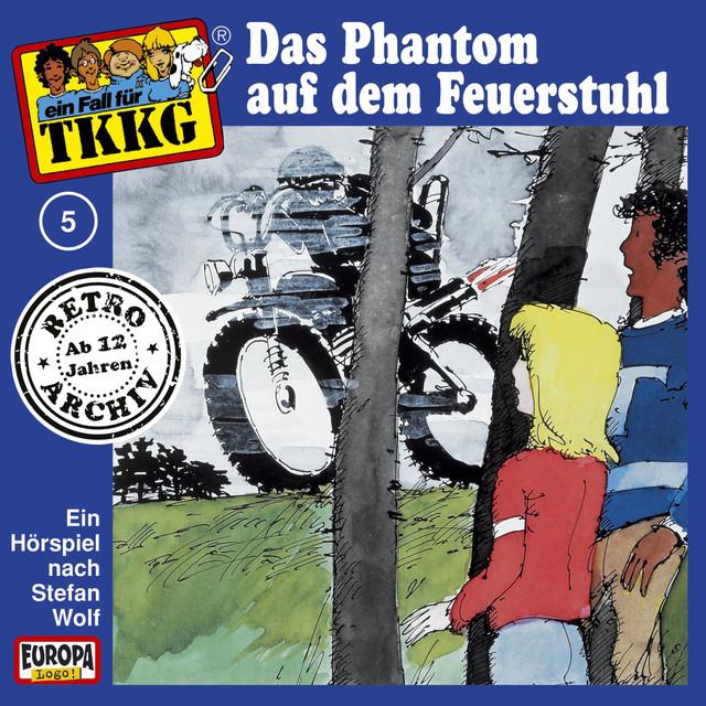 005 - Das Phantom auf dem Feuerstuhl Cover