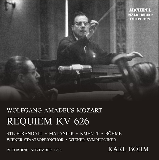 Mozart: Requiem in D Minor, K. 626 Albumcover