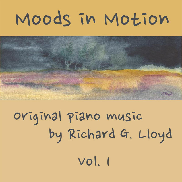 Richard Lloyd Moods in Motion, Vol. 1 album cover