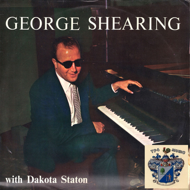 George Shearing, Dakota Staton George Shearing with Dakota Staton album cover