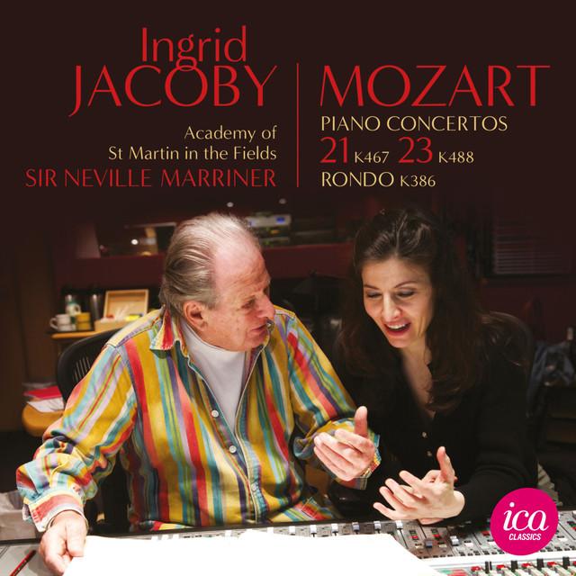 Mozart: Piano Concertos Nos. 21, 23 & Rondo in A Major Albumcover