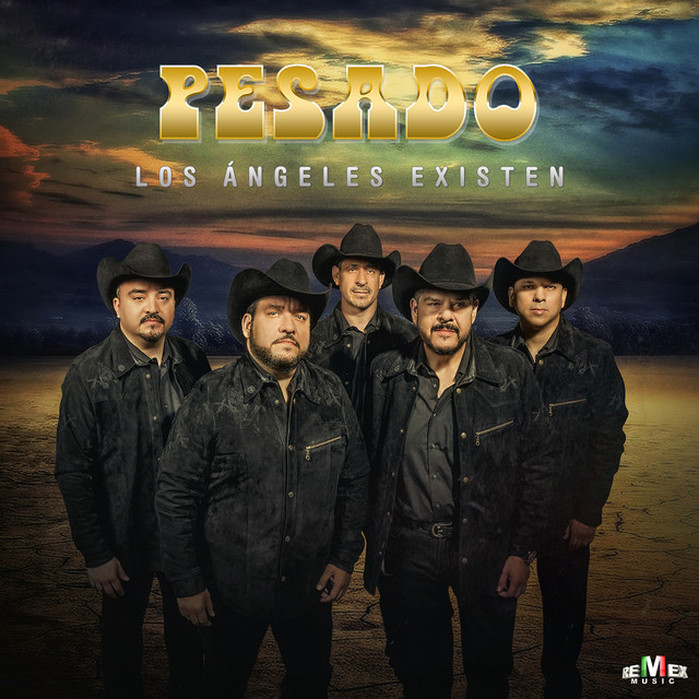 Album cover for Los Ángeles Existen by Pesado