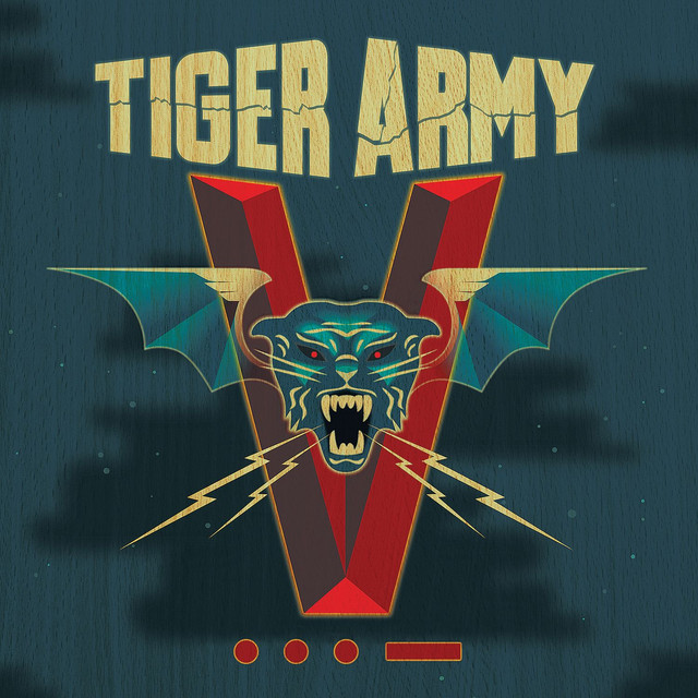 Album cover for V by Tiger Army