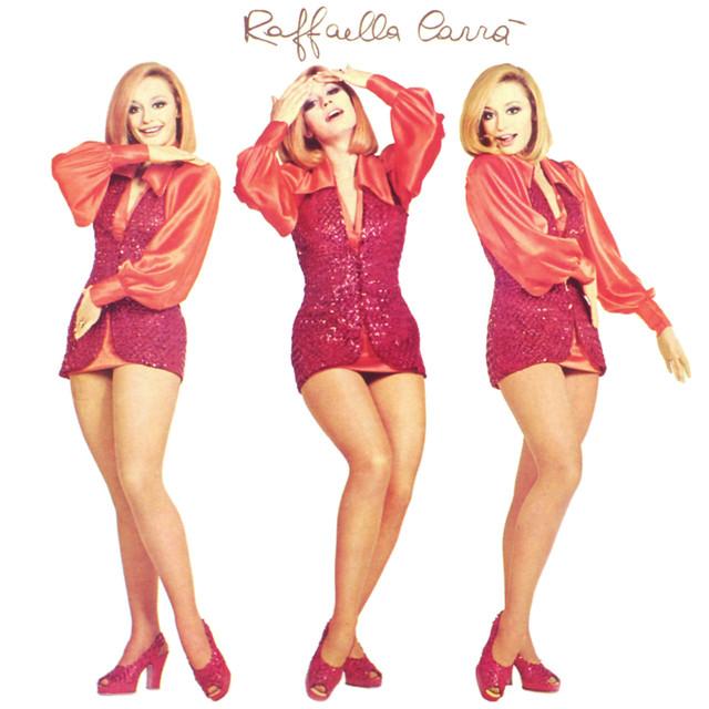 """Raffaella Carrà, copertina del singolo """"Tuca Tuca"""" (1971)"""