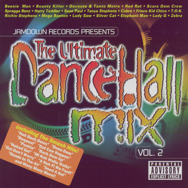 Various Artists The Ultimate Dancehall Mix Volume 2 album cover