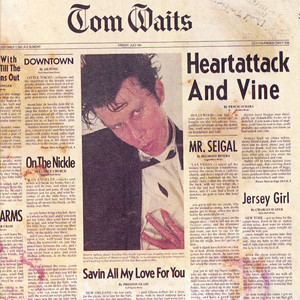 Tom Waits On the Nickel cover