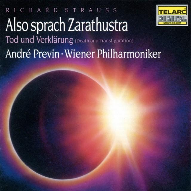 Strauss: Also Sprach Zarathustra & Tod Und Verklarung Albumcover