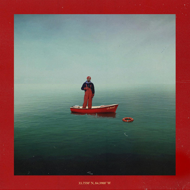 Album cover for Lil Boat by Lil Yachty