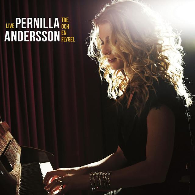 Skivomslag för Pernilla Andersson: Tre Och En Flygel