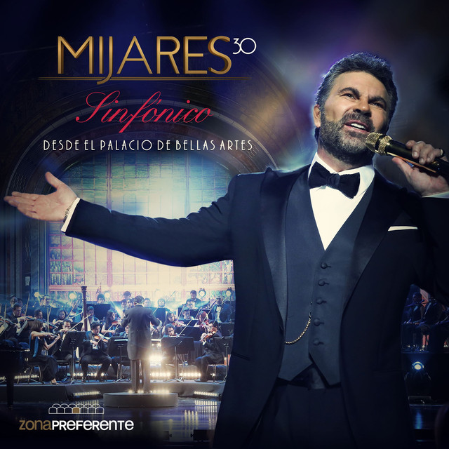 Album cover for Sinfónico Desde el Palacio de Bellas Artes (En Vivo) by Mijares