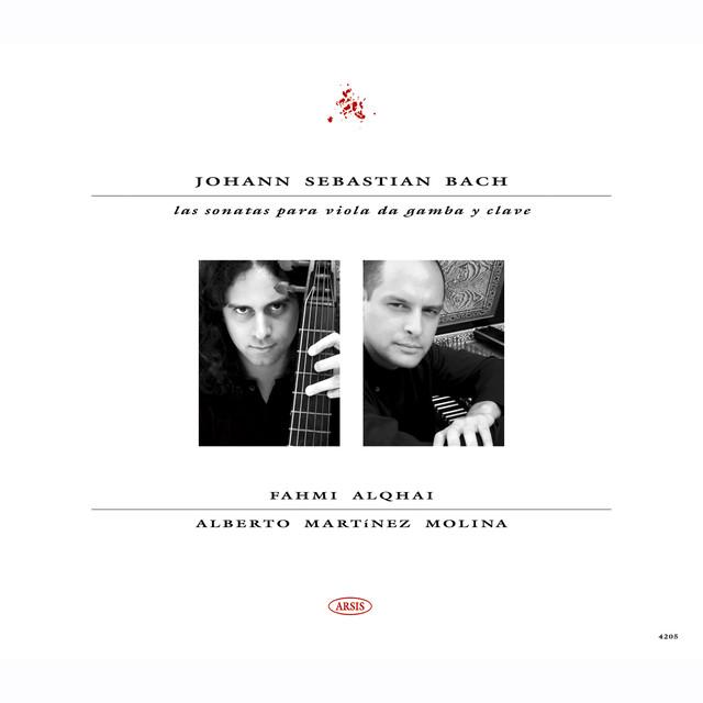 Johann Sebastian Bach. Las sonatas para viola da gamba y clave Albumcover