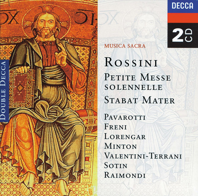 Rossini: Petite messe solennelle; Stabat Mater (2 CDs)
