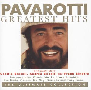 Traditional, Luciano Pavarotti, David Romano, Orchestra, Emerson Buckley Santa Lucia cover