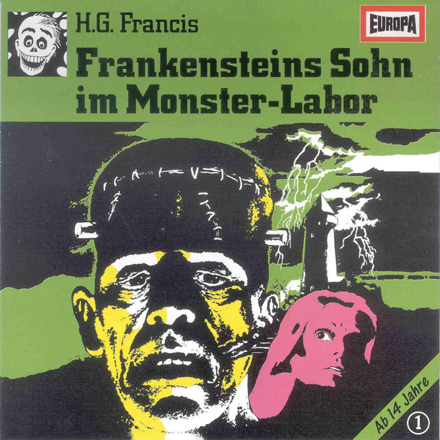 001 - Frankensteins Sohn im Monster-Labor Cover