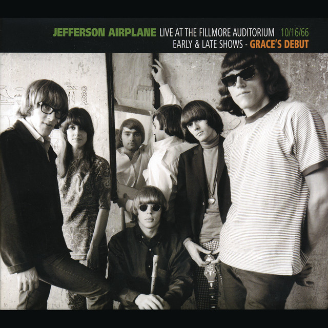 Jefferson Airplane Live at the Fillmore Auditorium: 10/16/66: Early & Late Shows - Grace's Debut album cover