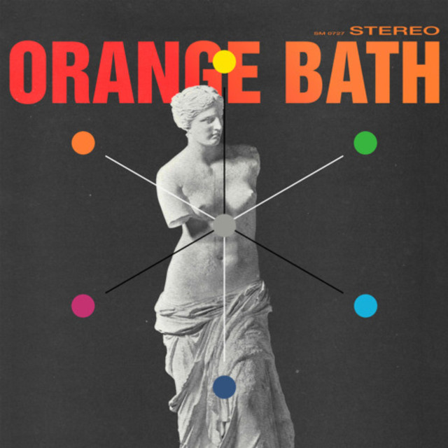 Album cover for Orange Bath by Asaad