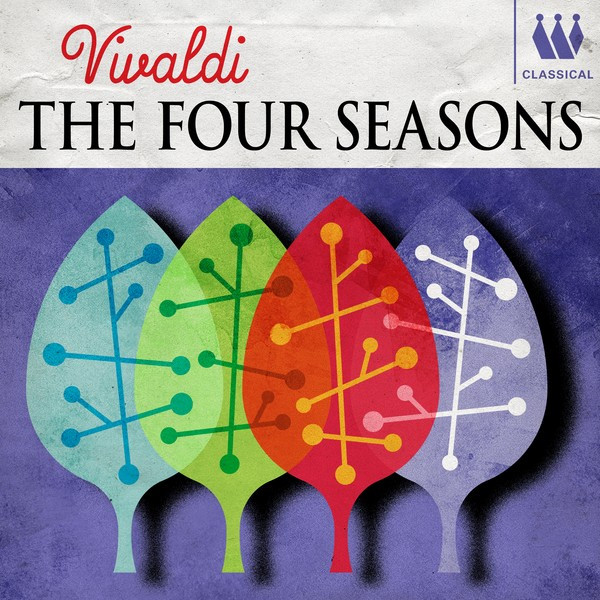 Album cover for Vivaldi - The Four Seasons by Antonio Vivaldi, Arthur Davison, Kenneth Sillito, Virtuosi Of England