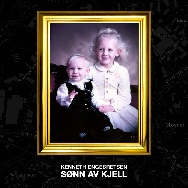 Album cover for SØNN AV KJELL by KENNETH ENGEBRETSEN