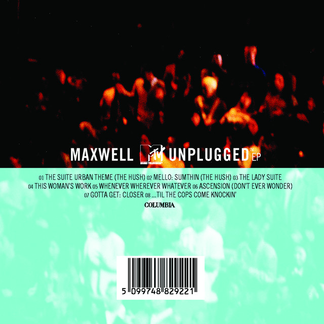 MAXWELL MTV UNPLUGGED