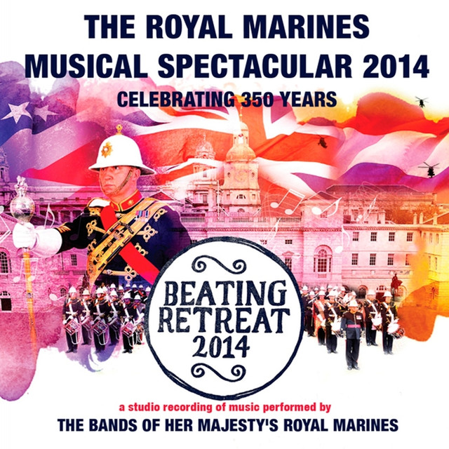 Artwork for Royal Salute by Massed Bands of HM Royal Marines