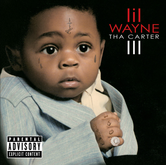 Lil Wayne Tha Carter III (Deluxe Explicit Version) album cover