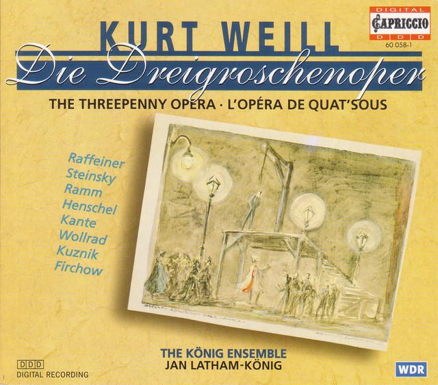 Weill, K.: Dreigroschenoper (Die) (The Threepenny Opera)