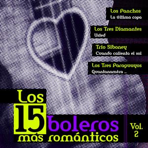 Los 15 Boleros Mas Romanticos, Vol. 2 Albumcover