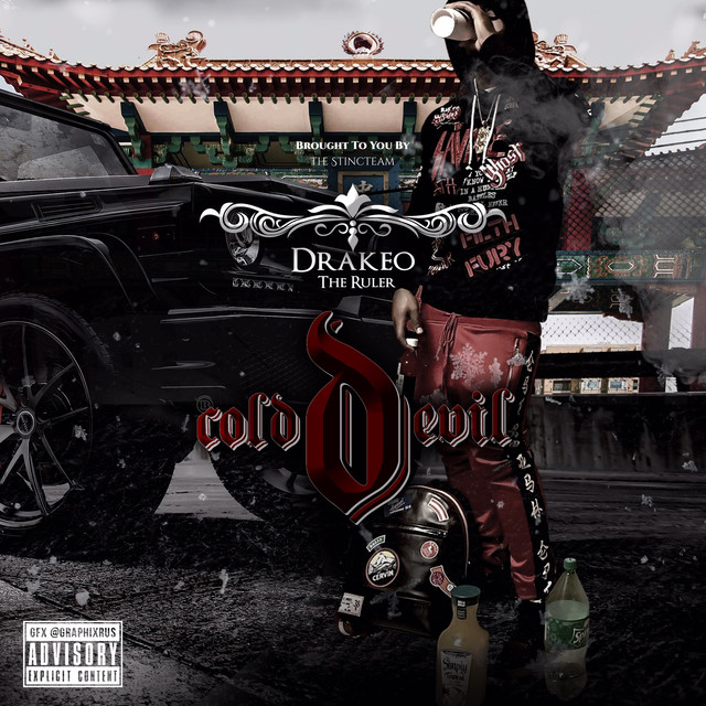 Album cover for Cold Devil by Drakeo the Ruler