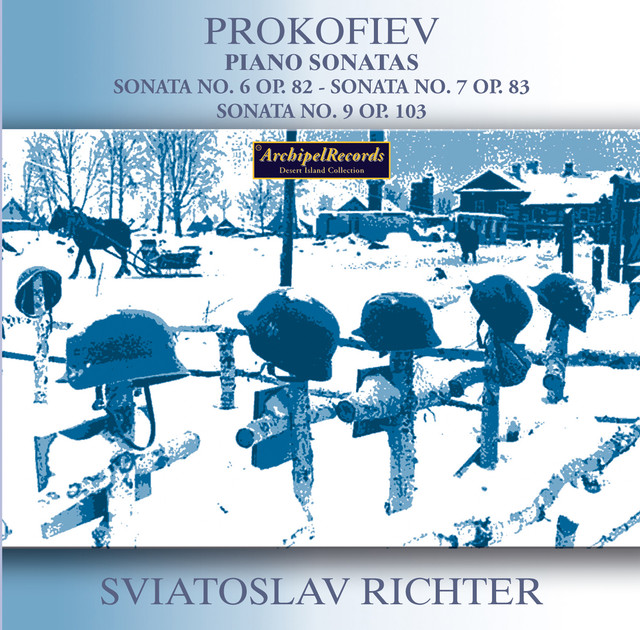 Prokofiev: Piano Sonatas Nos. 6, 7 & 9 Albumcover