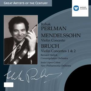 Mendelssohn: Violin Concerto - Bruch: Violin Concertos 1 & 2 Albumcover