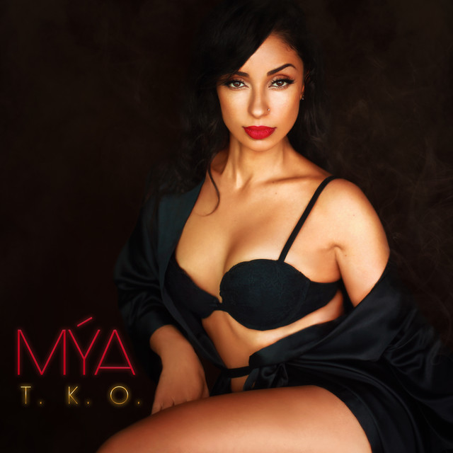 Album cover for T.K.O. (The Knock out) by Mýa