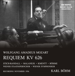 Mozart: Requiem in D Minor, K. 626 Albumcover