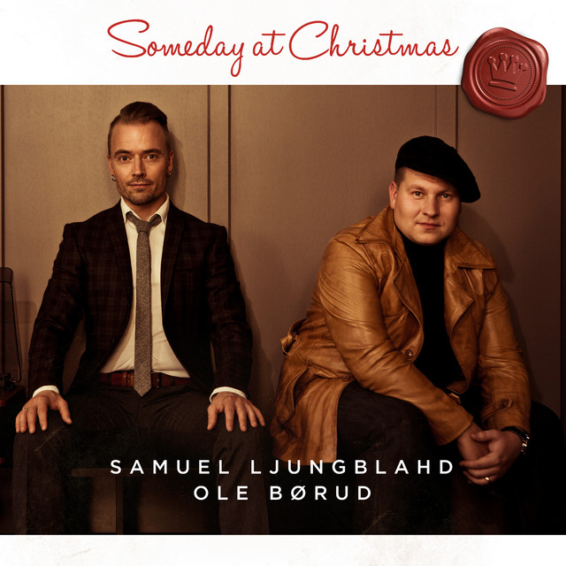 Skivomslag för Samuel Ljungblahd & Ole Børud: Someday At Christmas